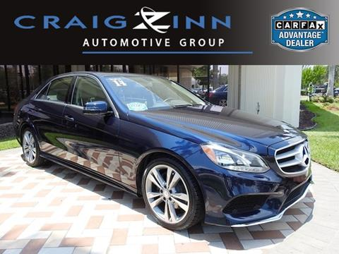 2014 Mercedes Benz E Class For Sale In Pembroke Pines, FL