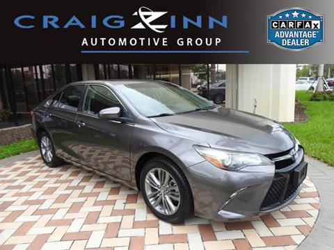 2016 Toyota Camry for sale in Pembroke Pines, FL