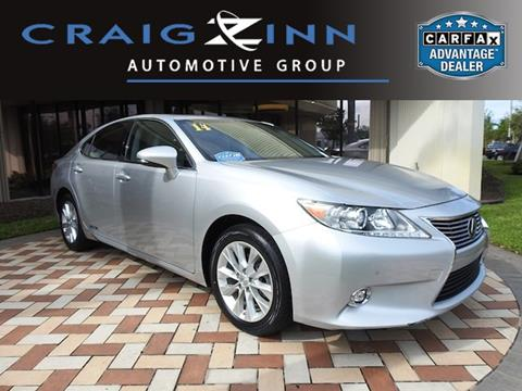 2014 Lexus ES 300h for sale in Pembroke Pines, FL