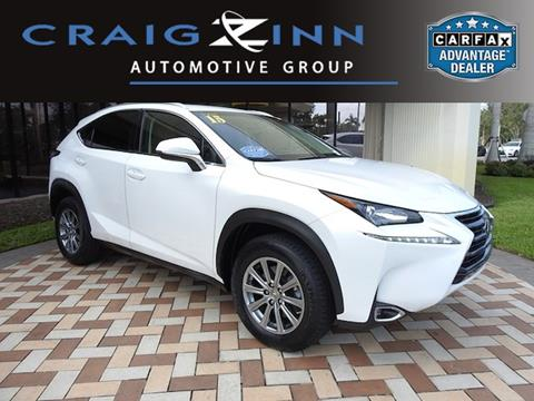 2015 Lexus NX 200t for sale in Pembroke Pines, FL