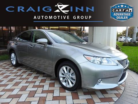2015 Lexus ES 300h for sale in Pembroke Pines, FL