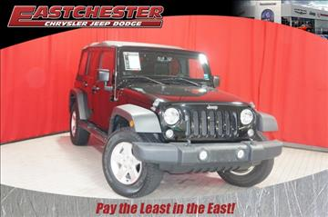 2014 Jeep Wrangler Unlimited for sale in Bronx, NY