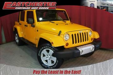 2012 Jeep Wrangler Unlimited for sale in Bronx, NY