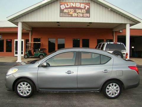 2012 Nissan Versa for sale in Paragould, AR