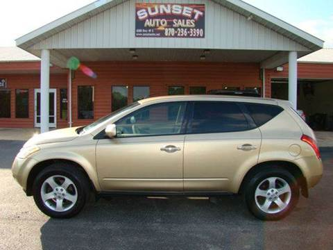 2004 Nissan Murano for sale in Paragould, AR
