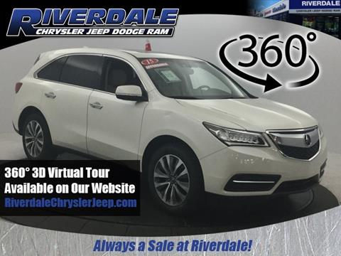 2015 Acura MDX for sale in Bronx, NY