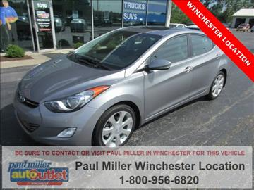 2013 Hyundai Elantra for sale in Winchester, KY