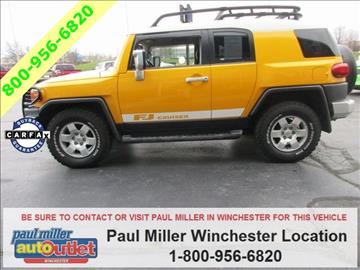 2007 Toyota FJ Cruiser for sale in Winchester, KY