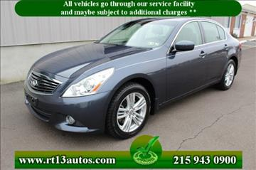 2011 Infiniti G25 Sedan for sale in Levittown, PA
