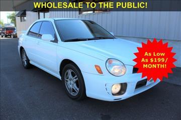 2002 Subaru Impreza for sale in Levittown, PA