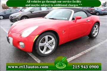 2006 Pontiac Solstice for sale in Levittown, PA