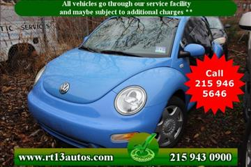 2001 Volkswagen New Beetle for sale in Levittown, PA