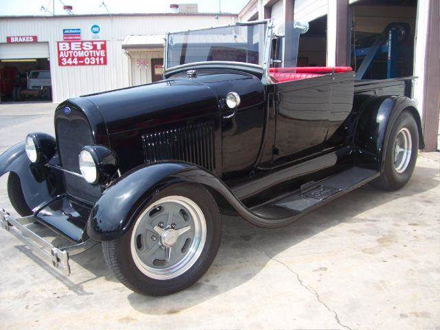 1929 Ford Model A Pickup Roadster