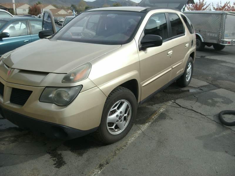 Pontiac aztek for sale for Small car motors carson city nv