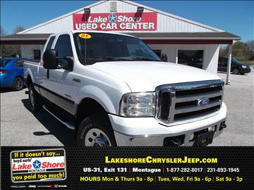 2005 Ford F-250 Super Duty for sale in Montague, MI