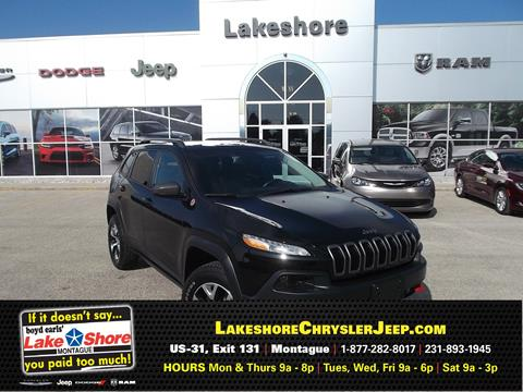2015 Jeep Cherokee for sale in Montague, MI