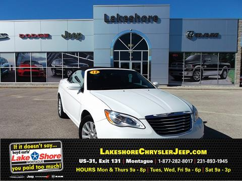 2012 Chrysler 200 Convertible for sale in Montague MI