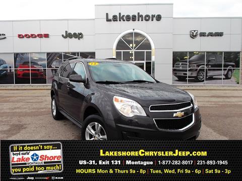 2013 Chevrolet Equinox for sale in Montague MI