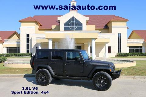 2012 Jeep Wrangler Unlimited for sale in Baton Rouge LA