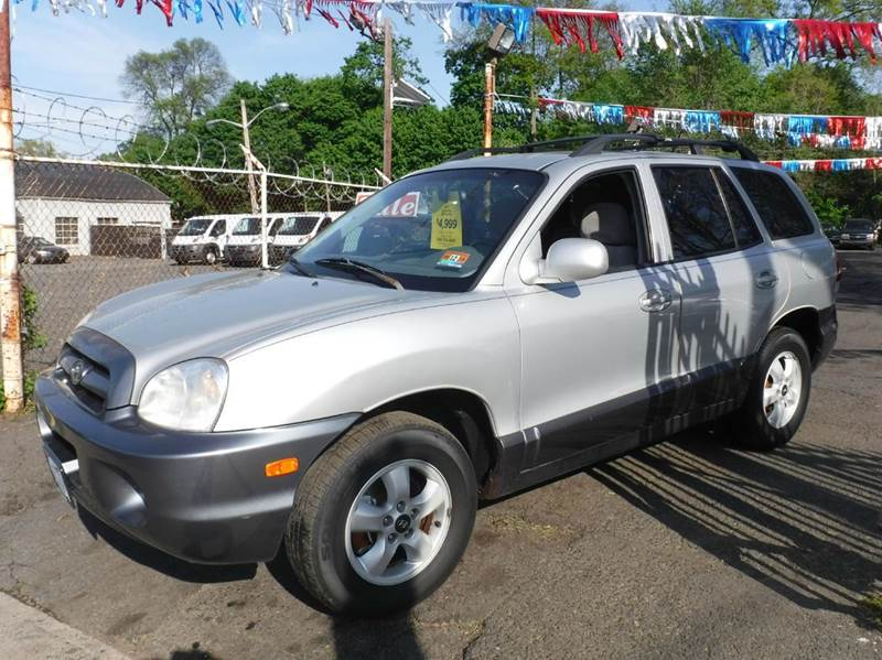 2005 hyundai santa fe awd gls 4dr suv in plainfield nj new plainfield auto sales. Black Bedroom Furniture Sets. Home Design Ideas