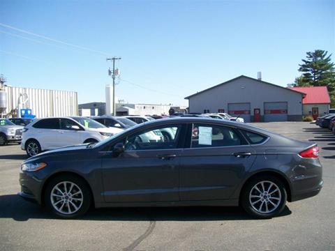 2017 Ford Fusion for sale in Perham, MN