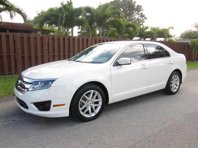 2012 FORD FUSION SEL 4DR SEDAN white bumper color body-color door handle color body-color exh