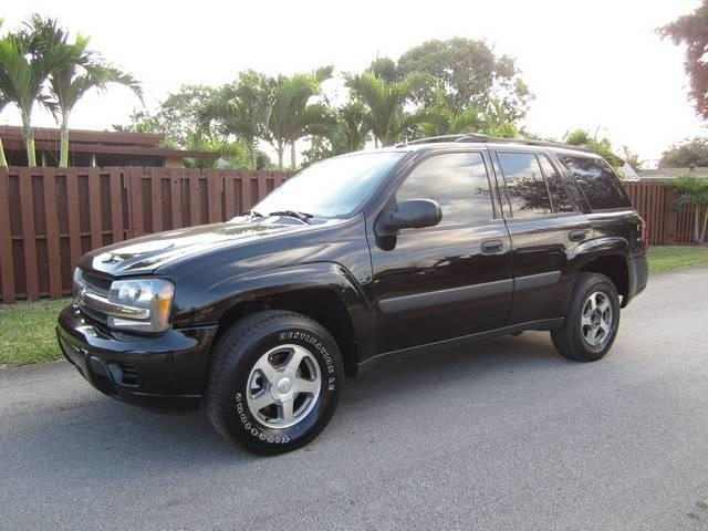 2005 CHEVROLET TRAILBLAZER LS 4DR SUV black front air conditioning front air conditioning zones