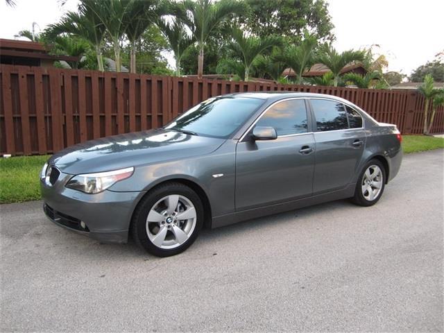 2006 BMW 5 SERIES 530I 4DR SEDAN gray air filtration front air conditioning front air condition