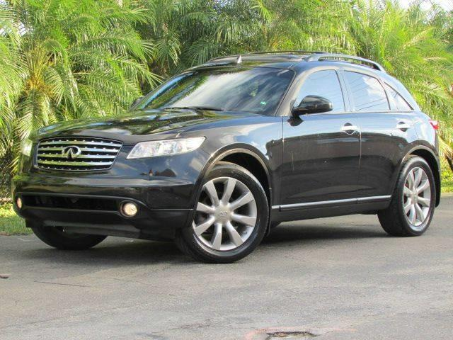 2003 INFINITI FX35 BASE AWD 4DR SUV black front air conditioning front air conditioning zones d