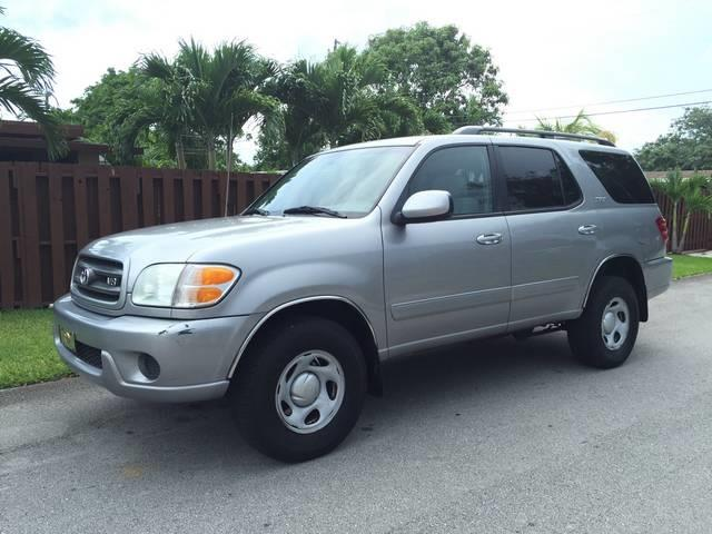 2004 TOYOTA SEQUOIA SR5 4DR SUV silver front air conditioning front air conditioning automatic