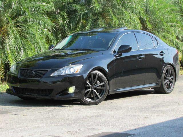 2008 LEXUS IS 350 BASE 4DR SEDAN black bumper color body-color door handle color body-color m