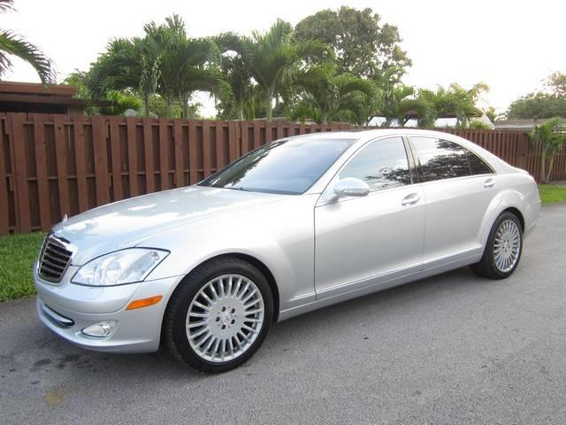 2007 MERCEDES-BENZ S-CLASS S550 4DR SEDAN silver grille color chrome air filtration active cha