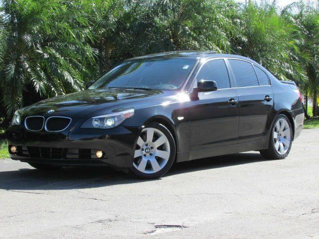 2004 BMW 5 SERIES 530I 4DR SEDAN black front air conditioning front air conditioning zones dual