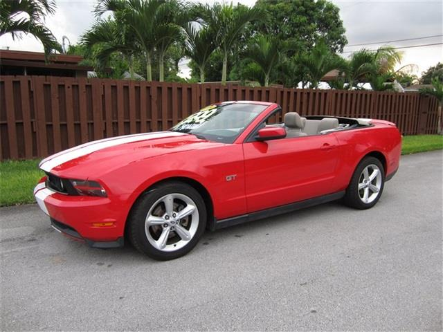 2010 FORD MUSTANG GT 2DR CONVERTIBLE red exhaust tip color polished aluminum dual exhaust tips