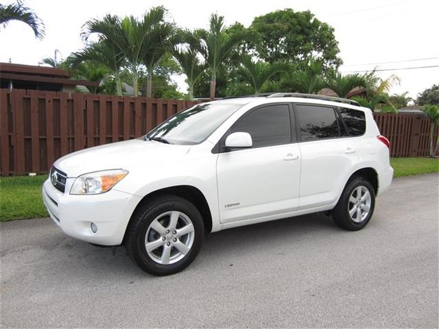 2007 TOYOTA RAV4 LIMITED 4DR SUV V6 white grille color chrome rear spoiler air filtration fro