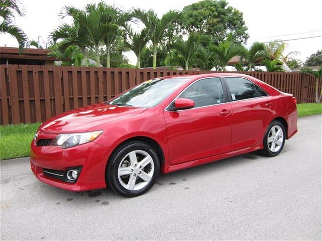 2014 TOYOTA CAMRY L 4DR SEDAN red air filtration front air conditioning front air conditioning