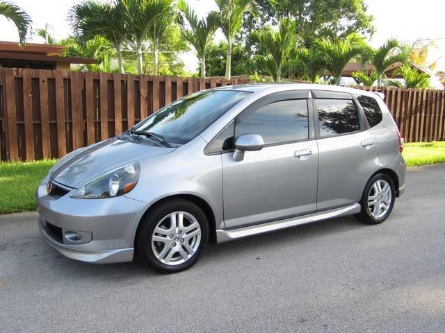 2008 HONDA FIT SPORT 4DR HATCHBACK 5A silver bumper color body-color door handle color body-co