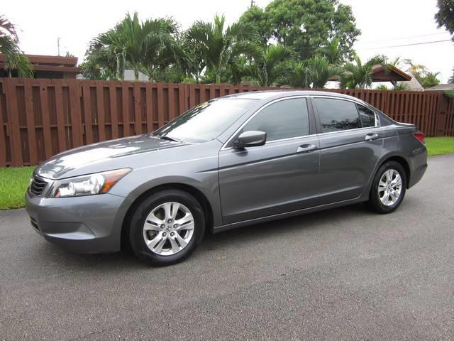 2008 HONDA ACCORD LX-P SEDAN gray exhaust tip color chrome mirror color body-color steering ra