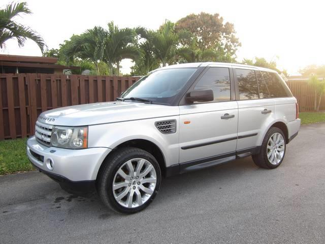 2006 LAND ROVER RANGE ROVER SPORT SUPERCHARGED 4DR SUV 4WD silver rear spoiler air filtration f