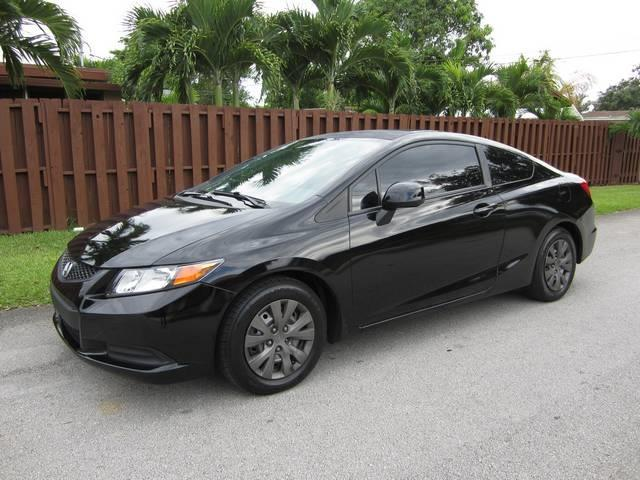 2012 HONDA CIVIC LX 2DR COUPE 5A black bumper color body-color door handle color body-color m