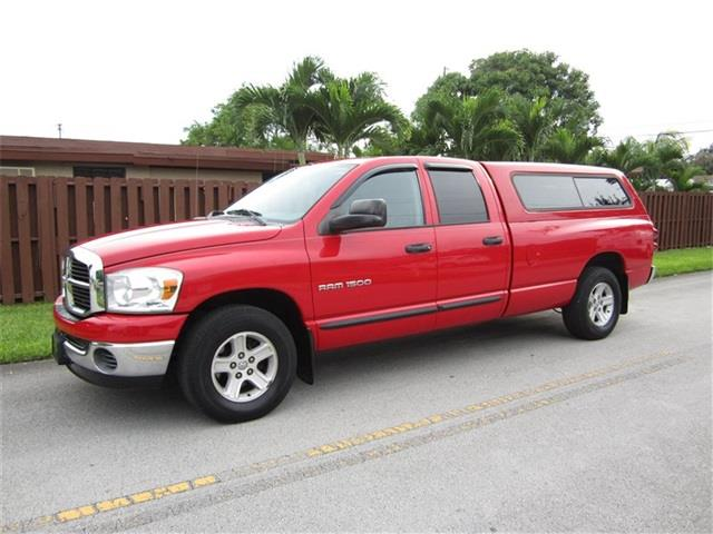 2007 DODGE RAM PICKUP 1500 ST red front air conditioning front air conditioning zones airbag de