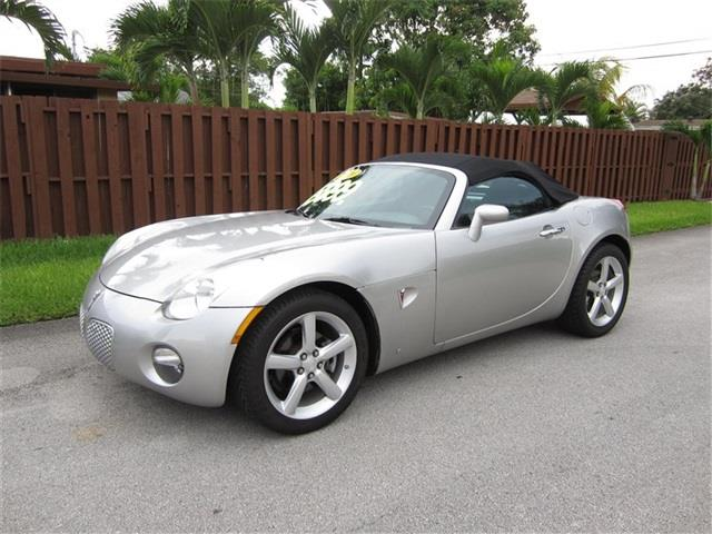 2009 PONTIAC SOLSTICE BASE 2DR CONVERTIBLE silver exhaust tip color stainless-steel mirror colo