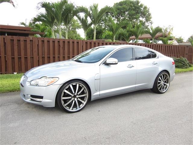 2009 JAGUAR XF SUPERCHARGED 4DR SEDAN silver air filtration front air conditioning front air co