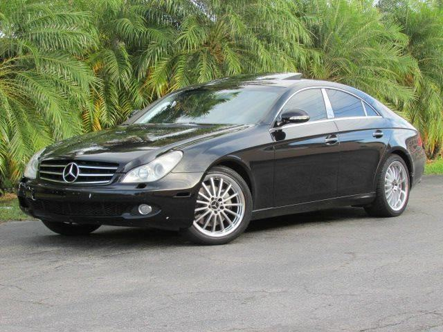 2006 MERCEDES-BENZ CLS-CLASS CLS500 4DR SEDAN black air filtration center console trim leather