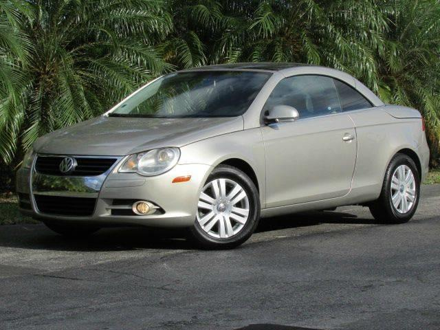 2007 VOLKSWAGEN EOS 20T 2DR CONVERTIBLE 2L I4 6A gold grille color chrome air filtration be