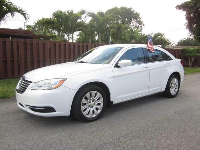 2012 CHRYSLER 200 TOURING 4DR SEDAN white bumper color body-color door handle color body-color