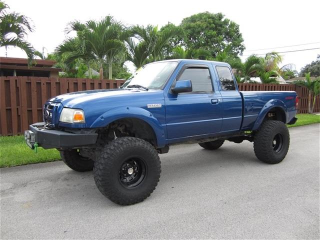 2007 FORD RANGER XL 2DR SUPERCAB SB blue airbag deactivation front airbags antenna type radio