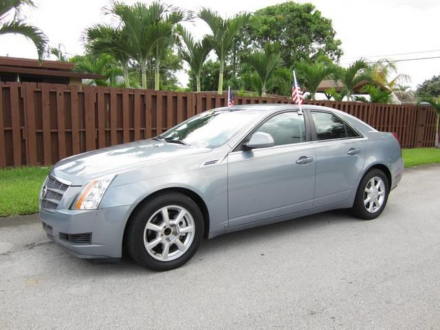 2008 CADILLAC CTS 36L V6 AWD 4DR SEDAN blue exhaust tip color chrome dual exhaust tips grille