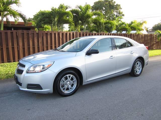 2013 CHEVROLET MALIBU LS FLEET 4DR SEDAN silver door handle color body-color front bumper color