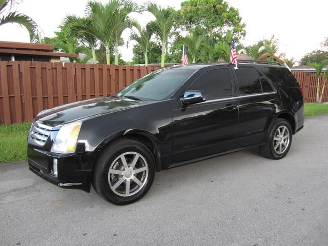 2004 CADILLAC SRX black front air conditioning front air conditioning zones dual interior acce
